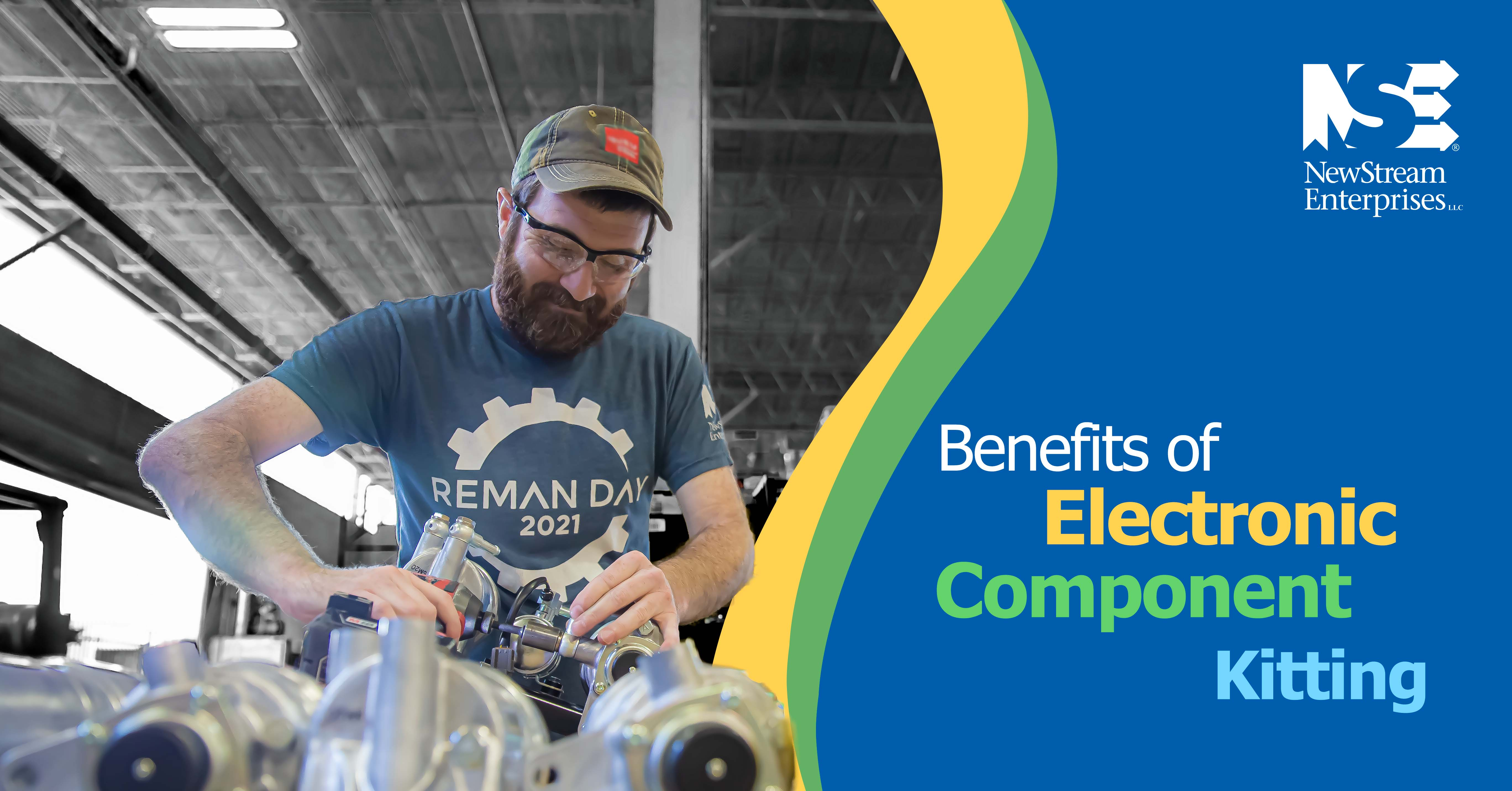 Benefits of Electronic Components Blog Title Graphic
