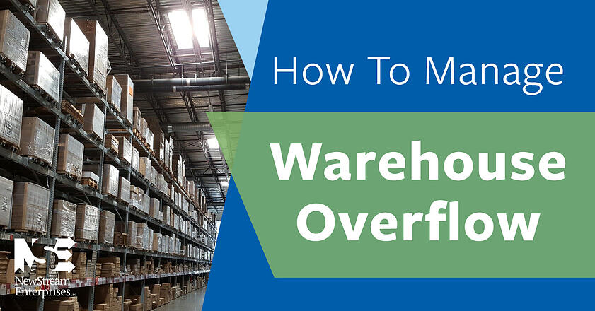 How to manage warehouse overflow