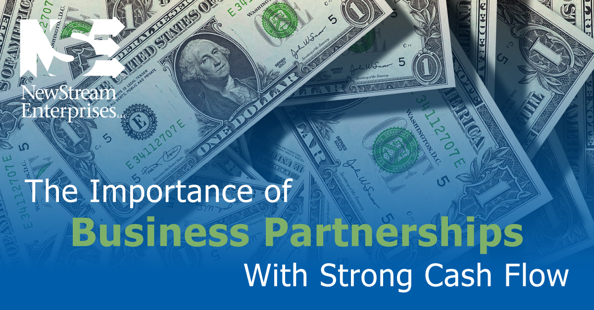 Importance of Business Partnerships With Strong Cash Flow
