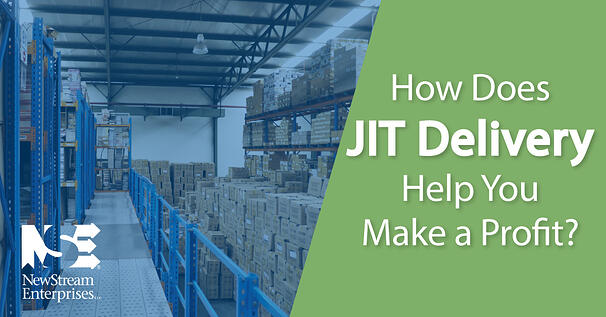 How does JIT delivery help stores make a profit?