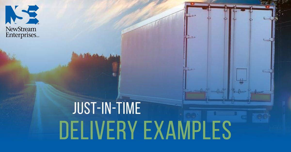 Just in time delivery examples