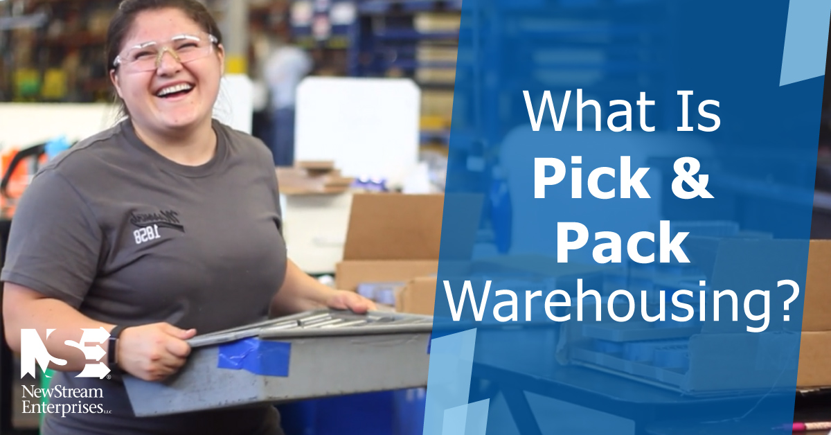 What is pick and pack warehousing?