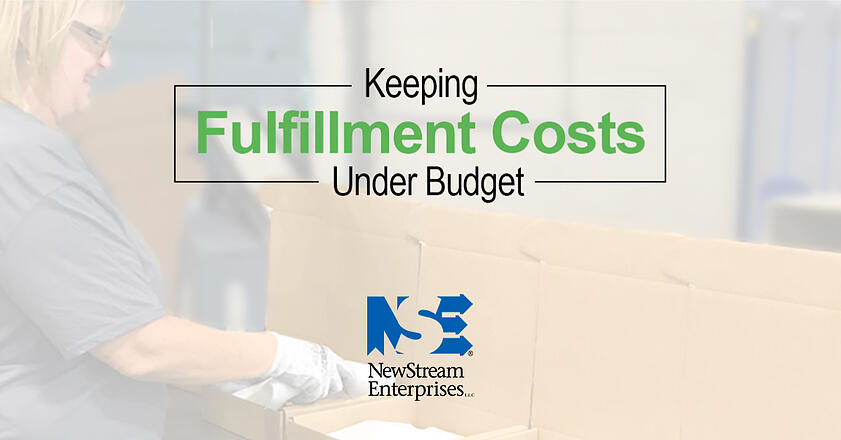 fulfillment costs under budget