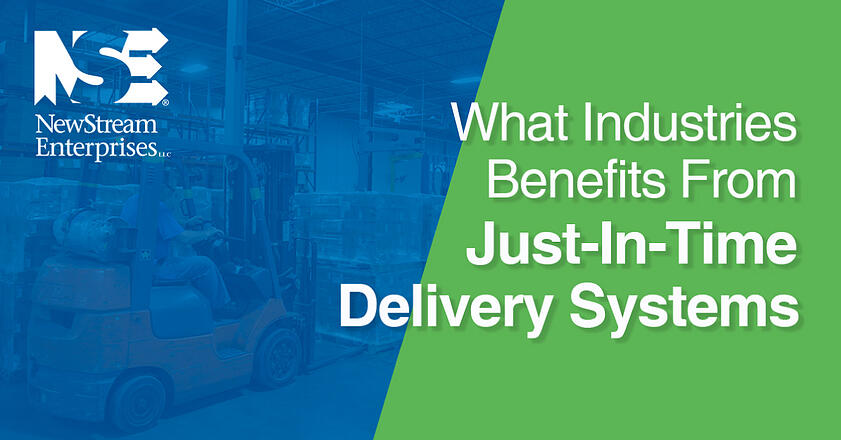 Industries that use JIT delivery systems