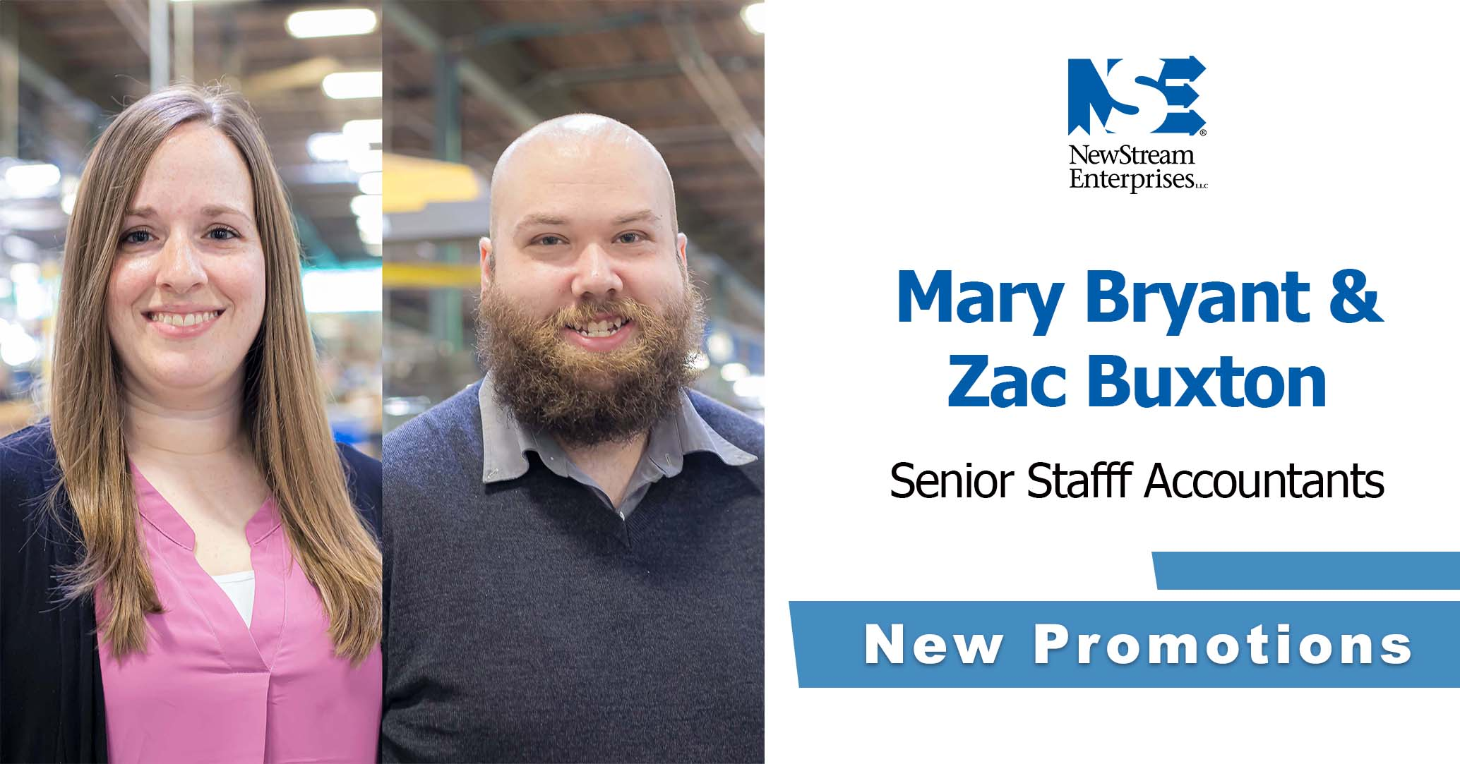 New Promotion for Zac and Mary