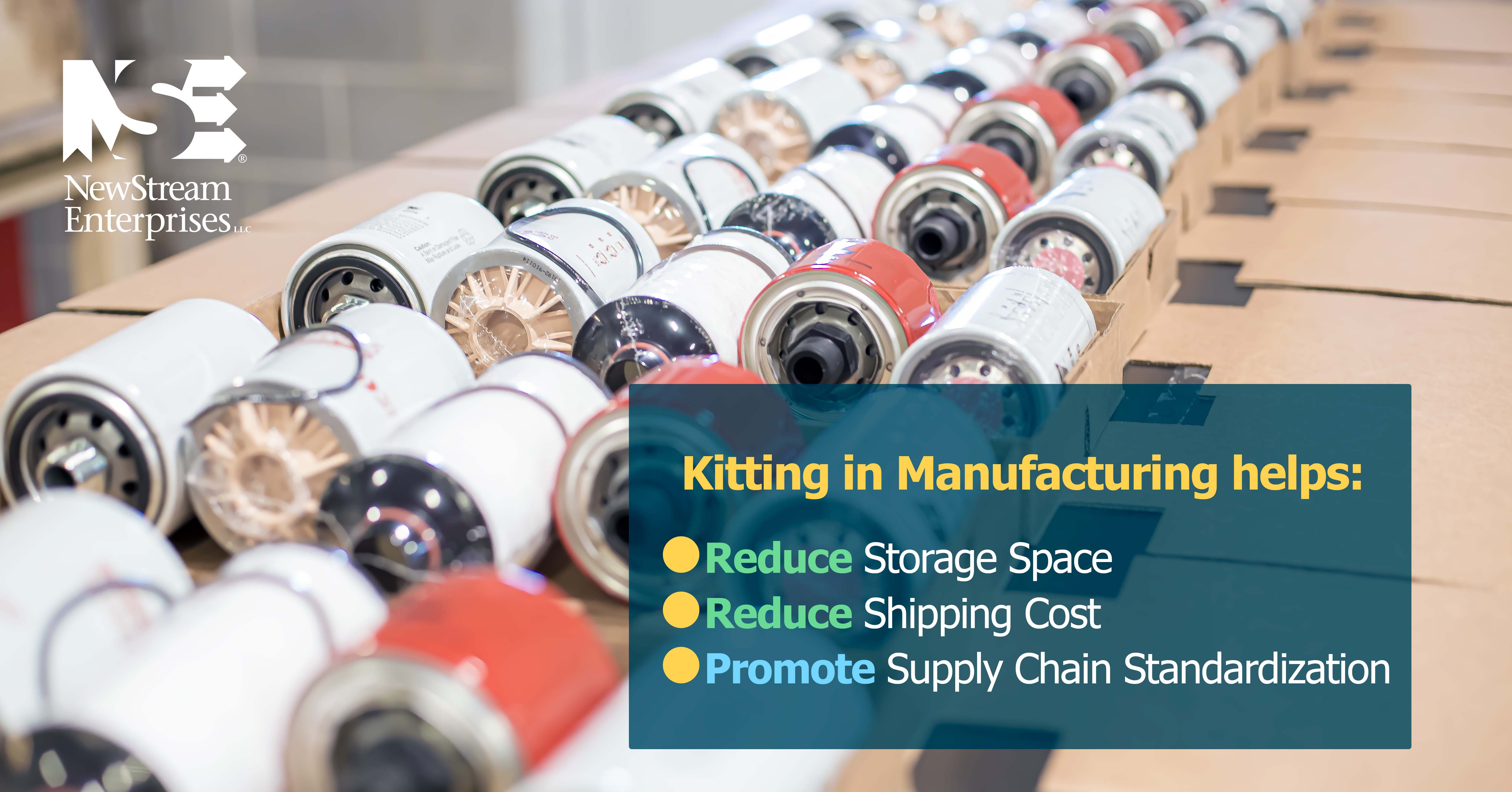 What is kitting in manufacturing graphic 1