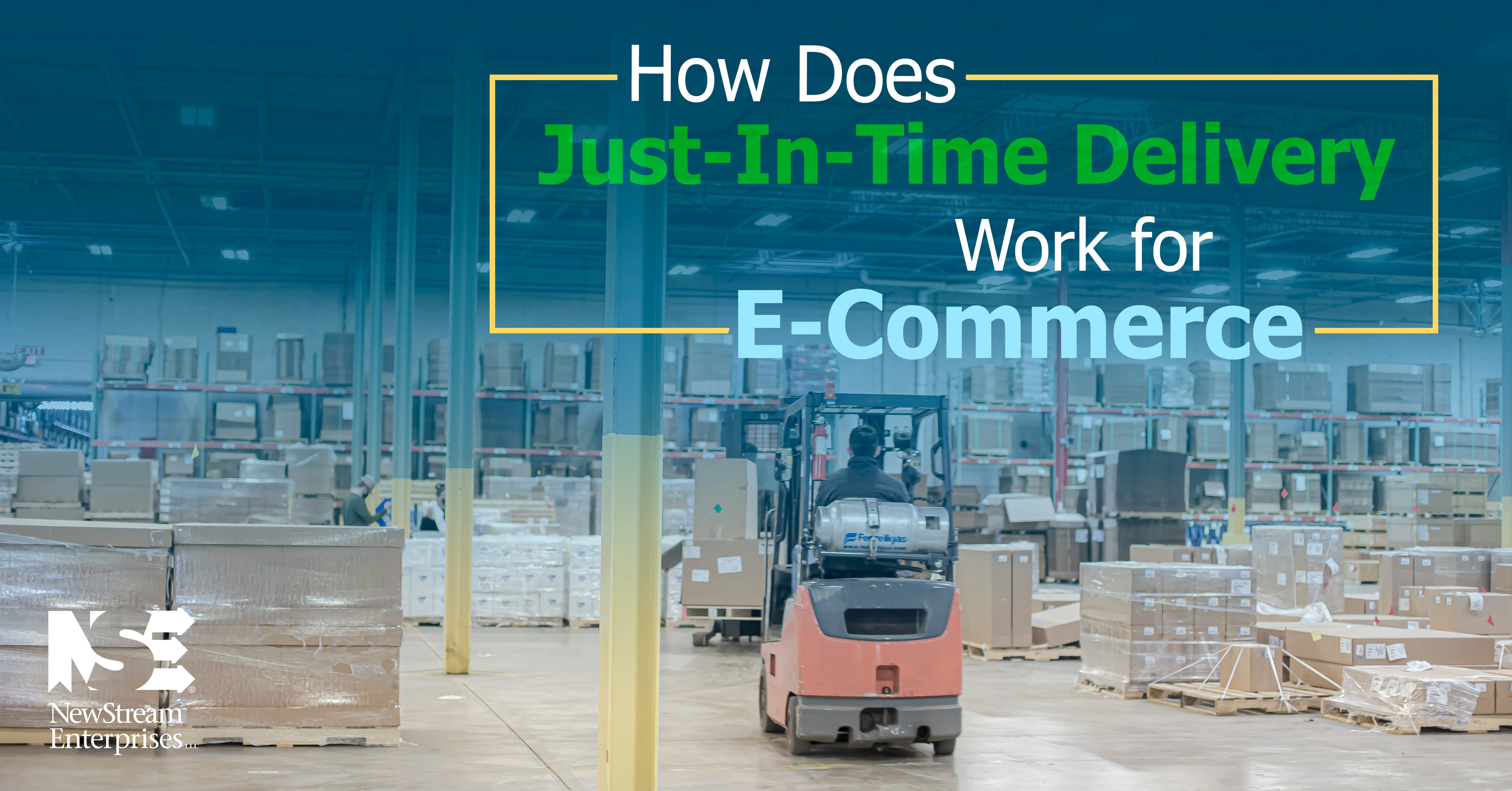How Does Just In Time Delivery Work for Ecommerce?