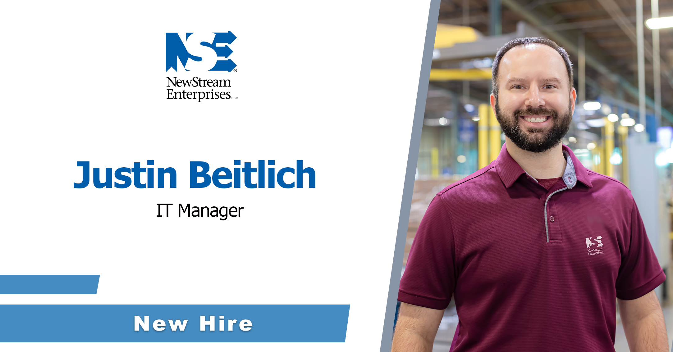 Beitlich Named NewStream IT Manager