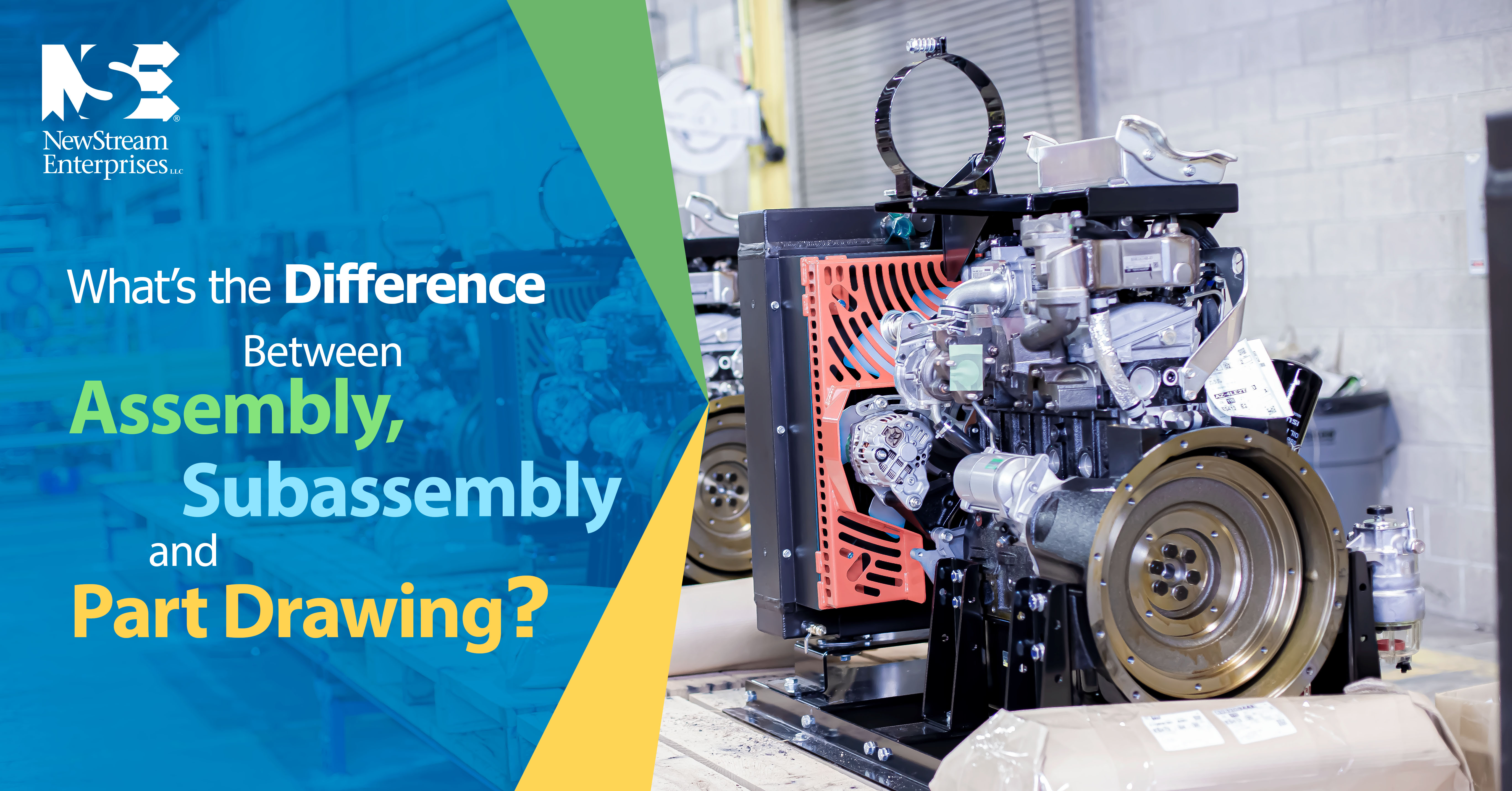 What's difference between assembly, subassembly, and part drawing?