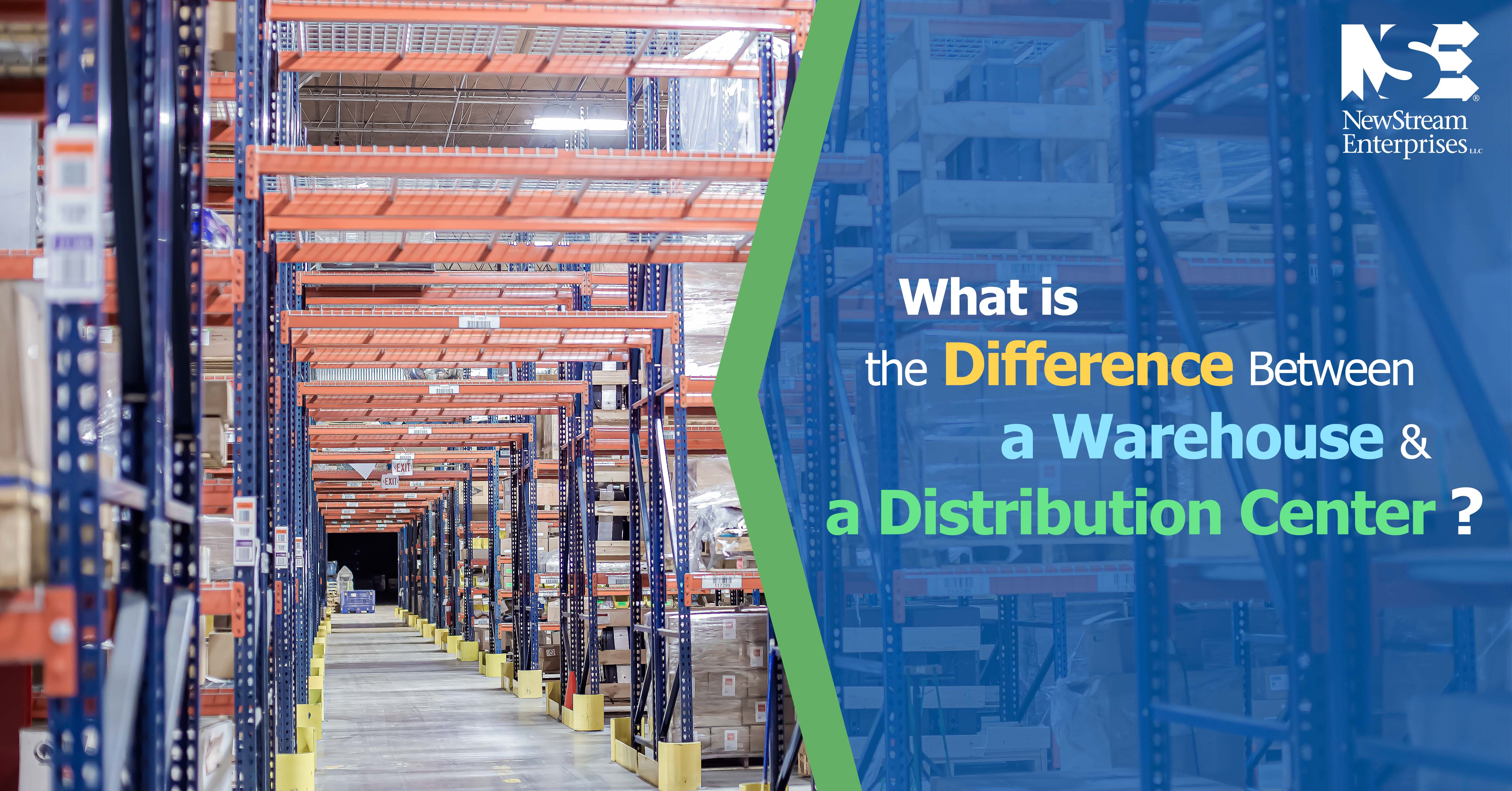 What is the Difference between a Warehouse and a Distribution Center?
