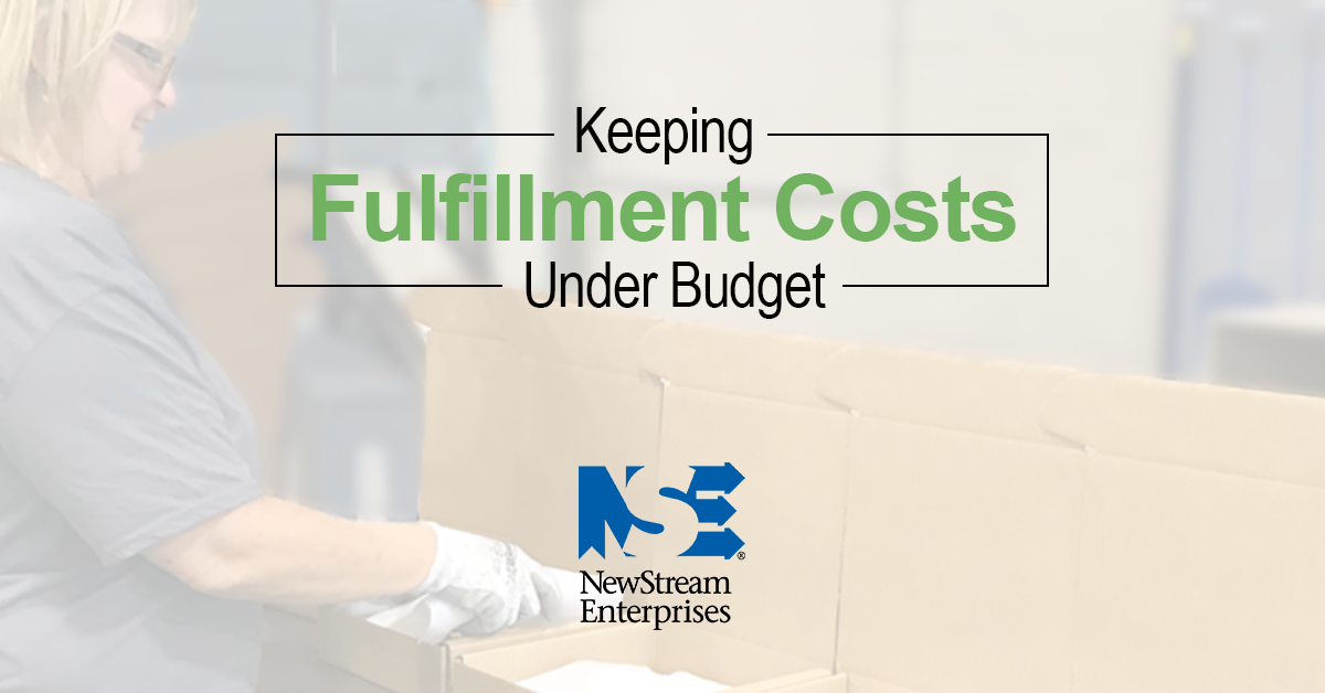 fulfillment costs under budget-1