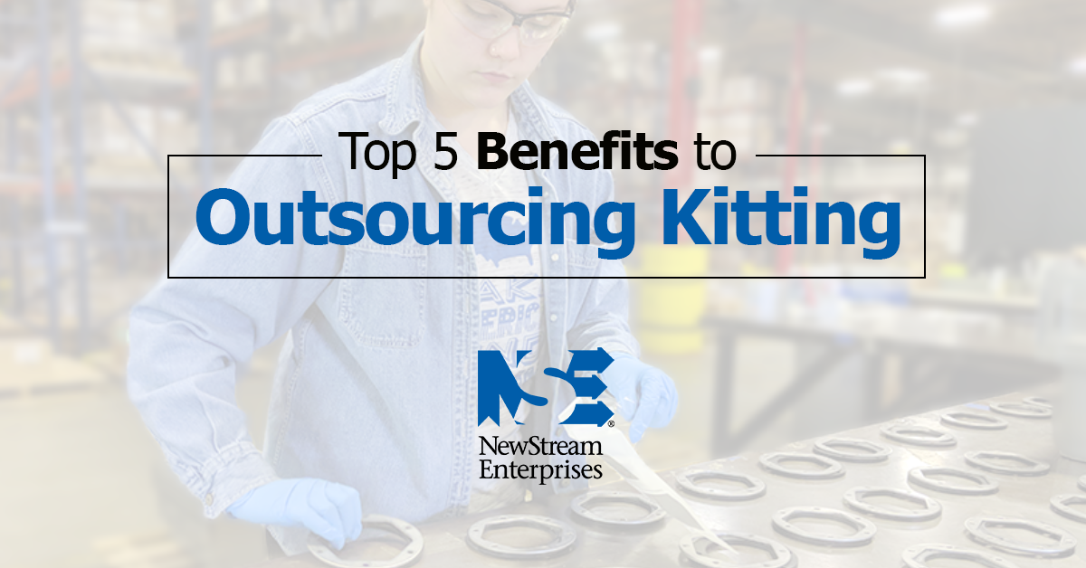 top 5 benefits to outsourcing kitting